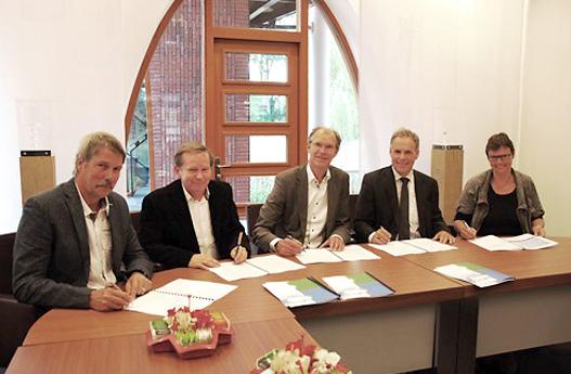 Ondertekening van het contract
