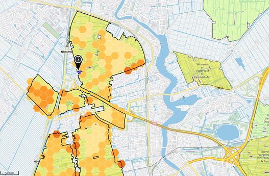 Een-kaart-met-de-huidige-stikstofdepositie-in-Polder-Westzaan